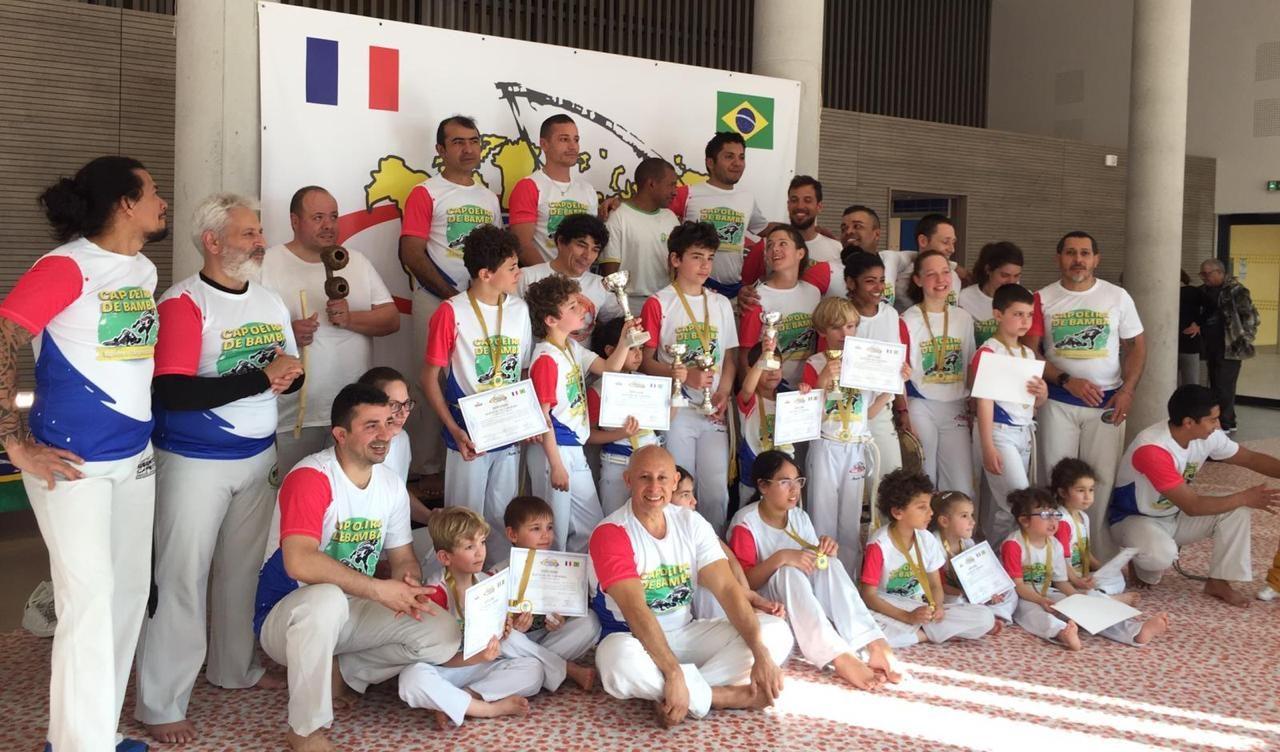 Photo: Premier Capoeira de Bamba Marseille Mars 2019